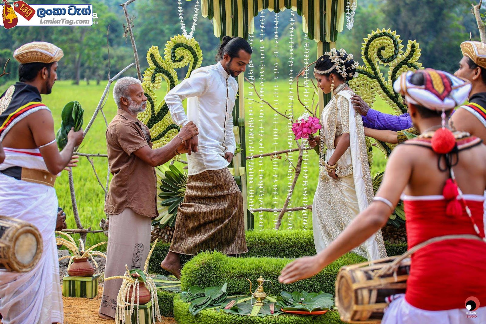 sri lankan wedding dress  44