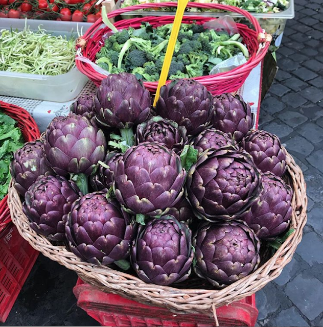 Join week-long food tours in Rome - artichokes are in season in May
