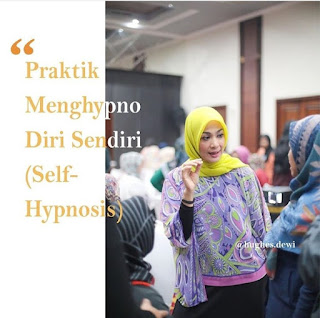 Dewi hughes sesi workshop diet kenyang