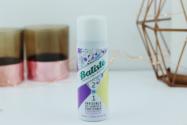 Batiste 2-in-1 Invisible Dry Shampoo & Conditioner in Vanilla & Passionflower