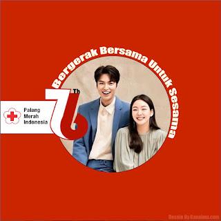twibbon hari pmi palang merah indonesia 76 kanalmu