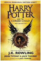 Harry Potter and the Cursed Child book cover and review