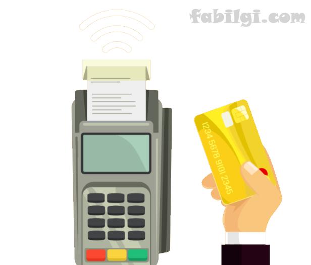 Ziraat Kredi ve Banka Kartıyla Temassız NFC Ödeme Yapımı