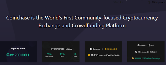 Coinchase exchange airdrop