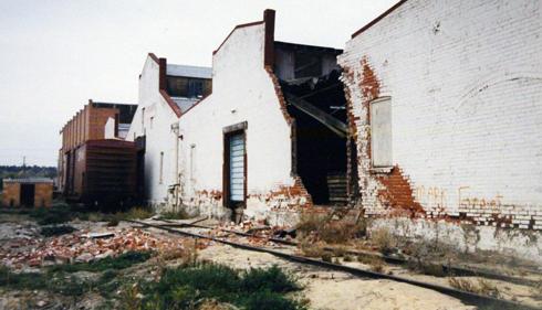 Abandoned Medalta