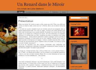 Le blog du roman Un Renard dans le miroir