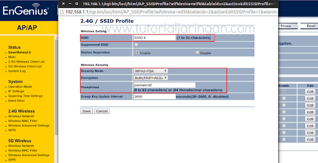 Cara Setting Multiple SSID & VLAN di EnGenius EAP600