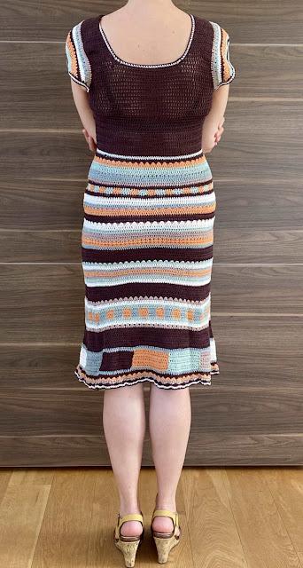 Hæklet kjole voksen