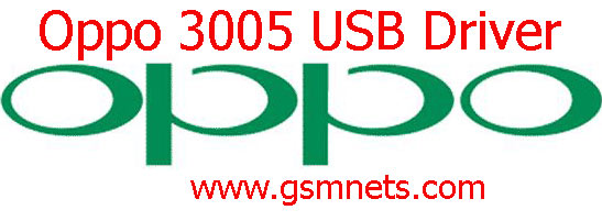 Oppo 3005 USB Driver Download