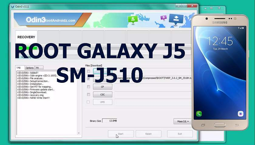 Root Galaxy J5 2016 SM-J510F | Root Galaxy J5 SM-J510F | RootAndroidz