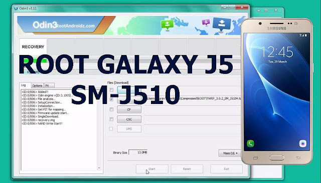How to Root Galaxy J5 2016 SM-J510F