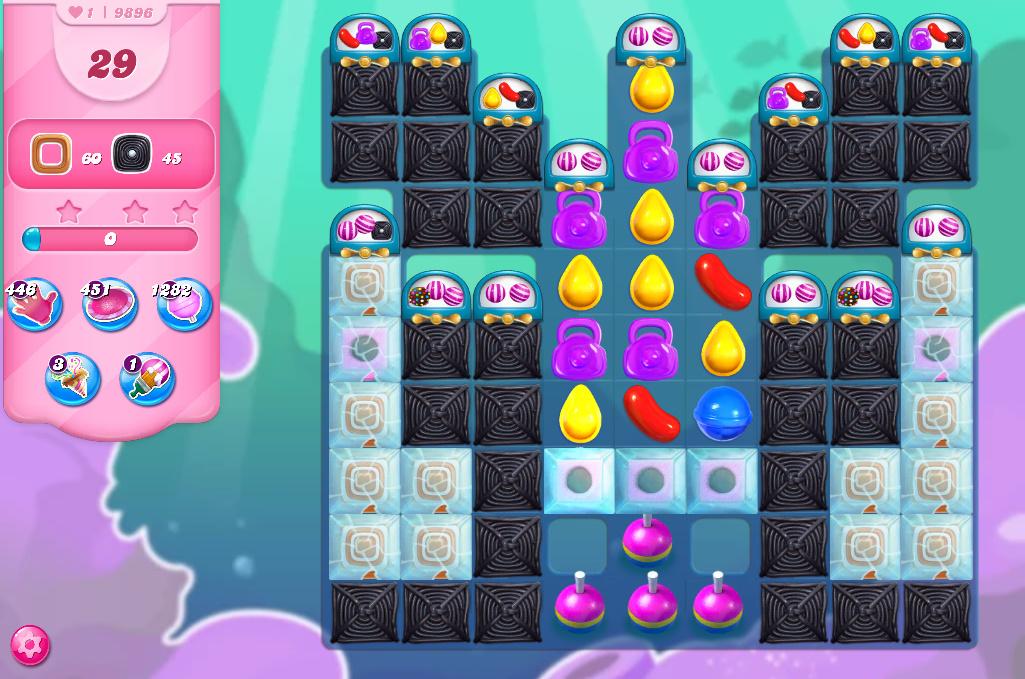 Candy Crush Saga level 9896