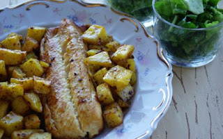 Fırında Patatesli Somon Tarifi