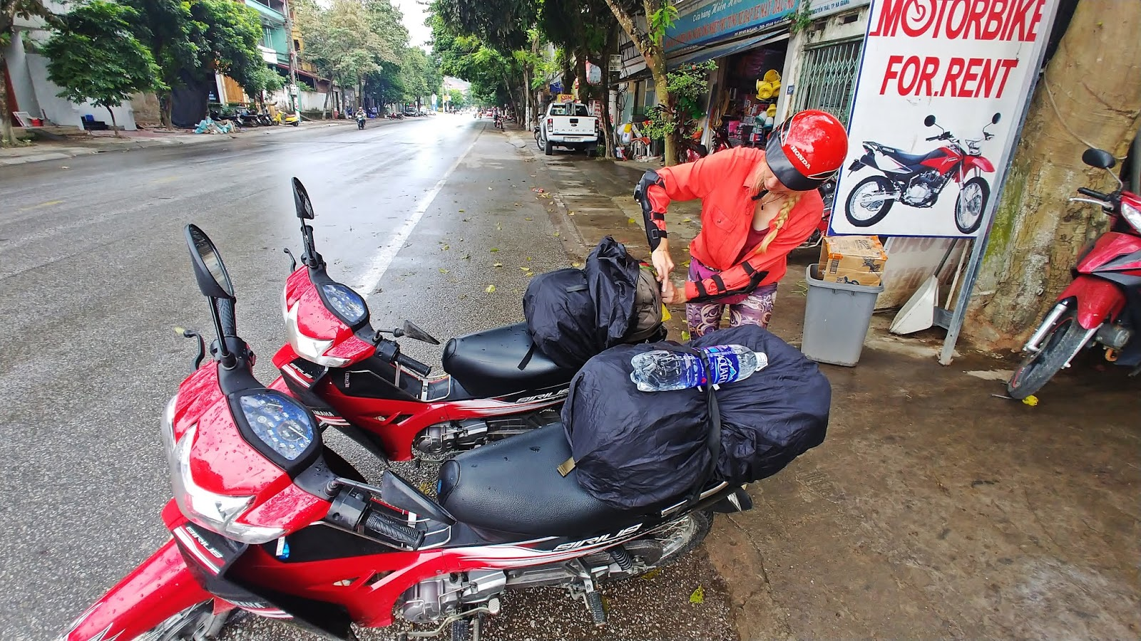 Witanam Ha Giang motorem pętla