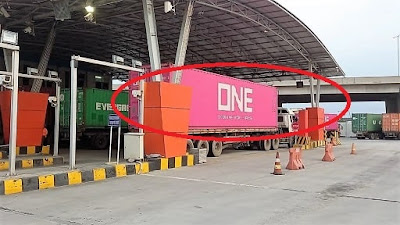 Container ONE NETWORK Shipping Line Indonesia