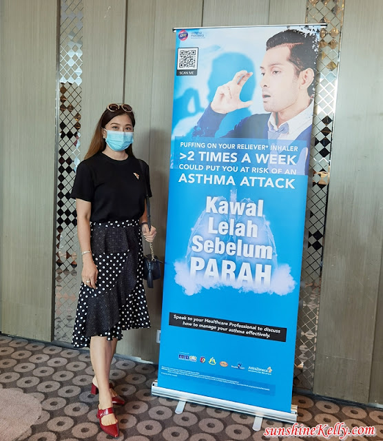 Kawal Lelah Sebelum Parah, Asthma Awareness Campaign, Educate Patients with Best Measures, Asthma Malaysia, Asthma Management, Health