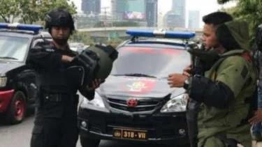 Ada Ransel Mencurigakan di Pinggir Jalan Gatsu, Diduga Bom?