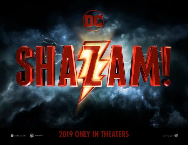 Shazam! DCEU movie logo