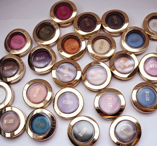Milani Bella Eyes Gel Powder Eyeshadow Swatches and Review- Neutrals