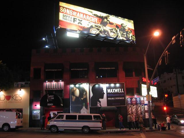 fachada de whisky a gogo, bares Los Angeles, conciertos en LA