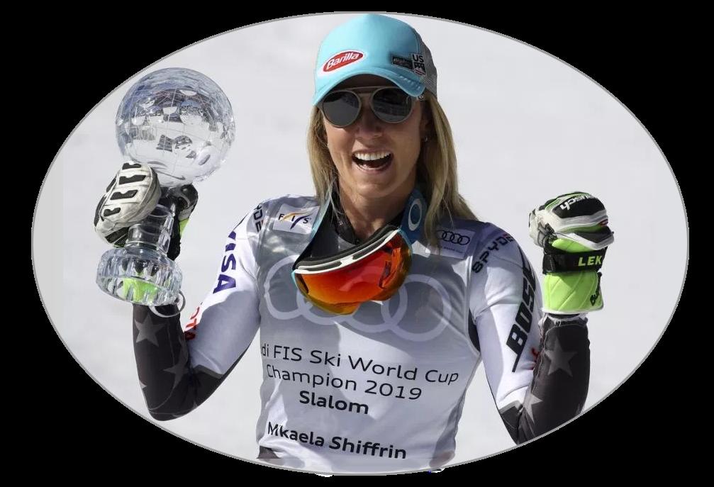 Mikaela Shiffrinová glóbus slalom - Andorra 2019