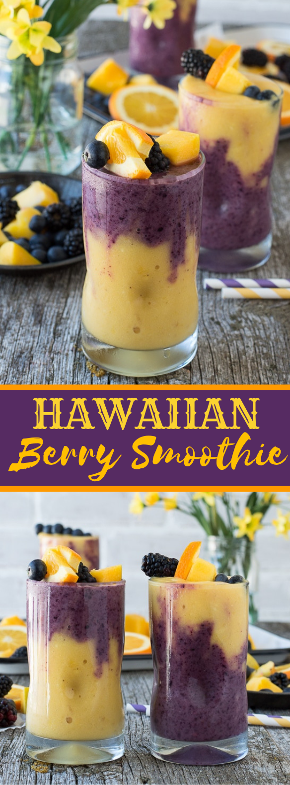 Hawaiian Berry Smoothie #drinks #celebratedrink