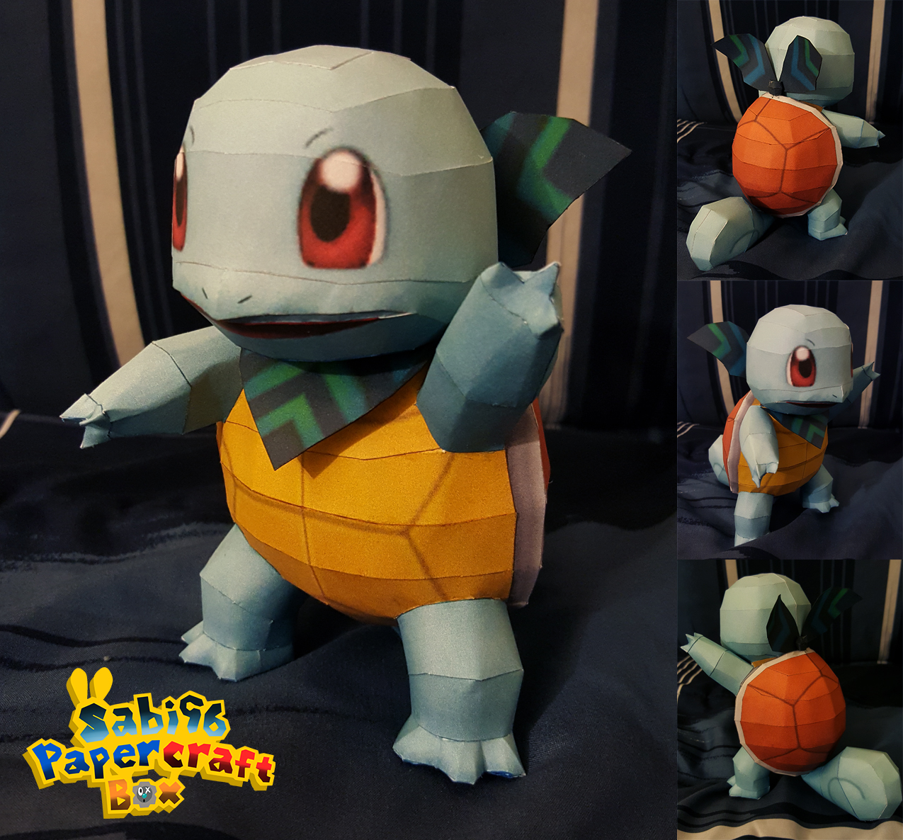 Papercraft Paradise Papercrafts Paper Models Card Origami Katana Japanese Sword Tutorial With Diagram Diy Henry Pokemon Mystery Dungeon Squirtle