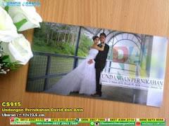 Undangan Pernikahan David Dan Anin
