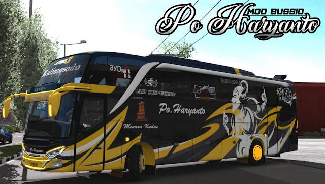 Free Download Kumpulan Livery Po Haryanto BUSSID Mod Apk