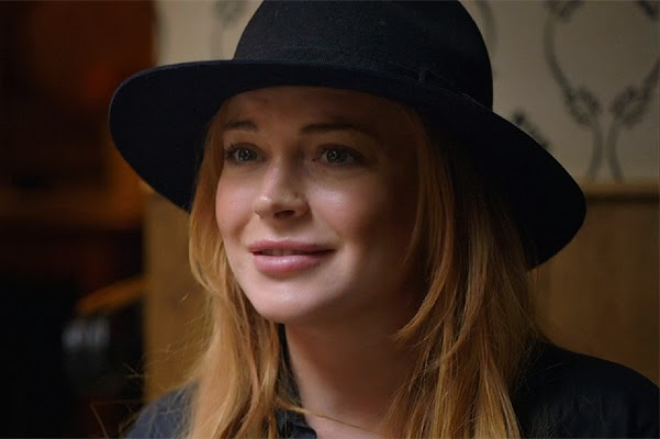 Lindsay Lohan in the trailer's own reality show