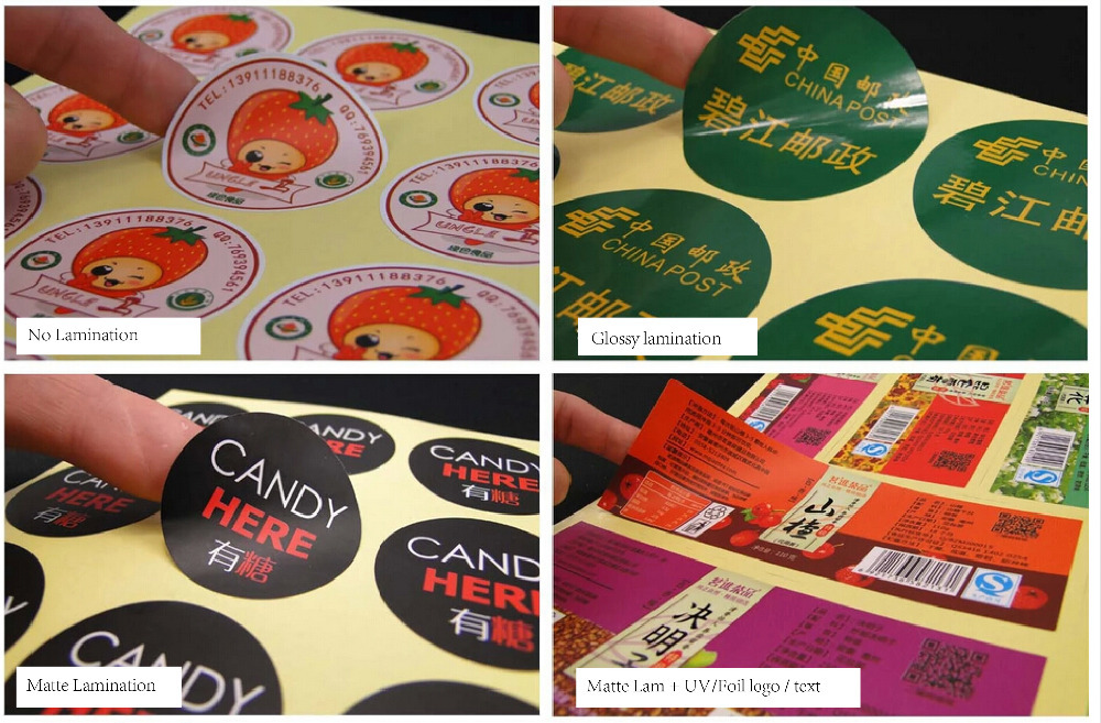 Die cutting is the process of cutting your printed stickers into the desired shape