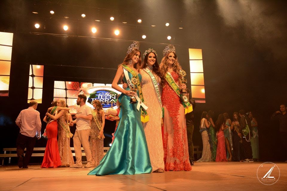 Miss Teen Terra Brasil 2019, Miss Teen Earth 2017 e Miss Teen Terra Brasil 2018. Foto: Augusto Lorenzzo