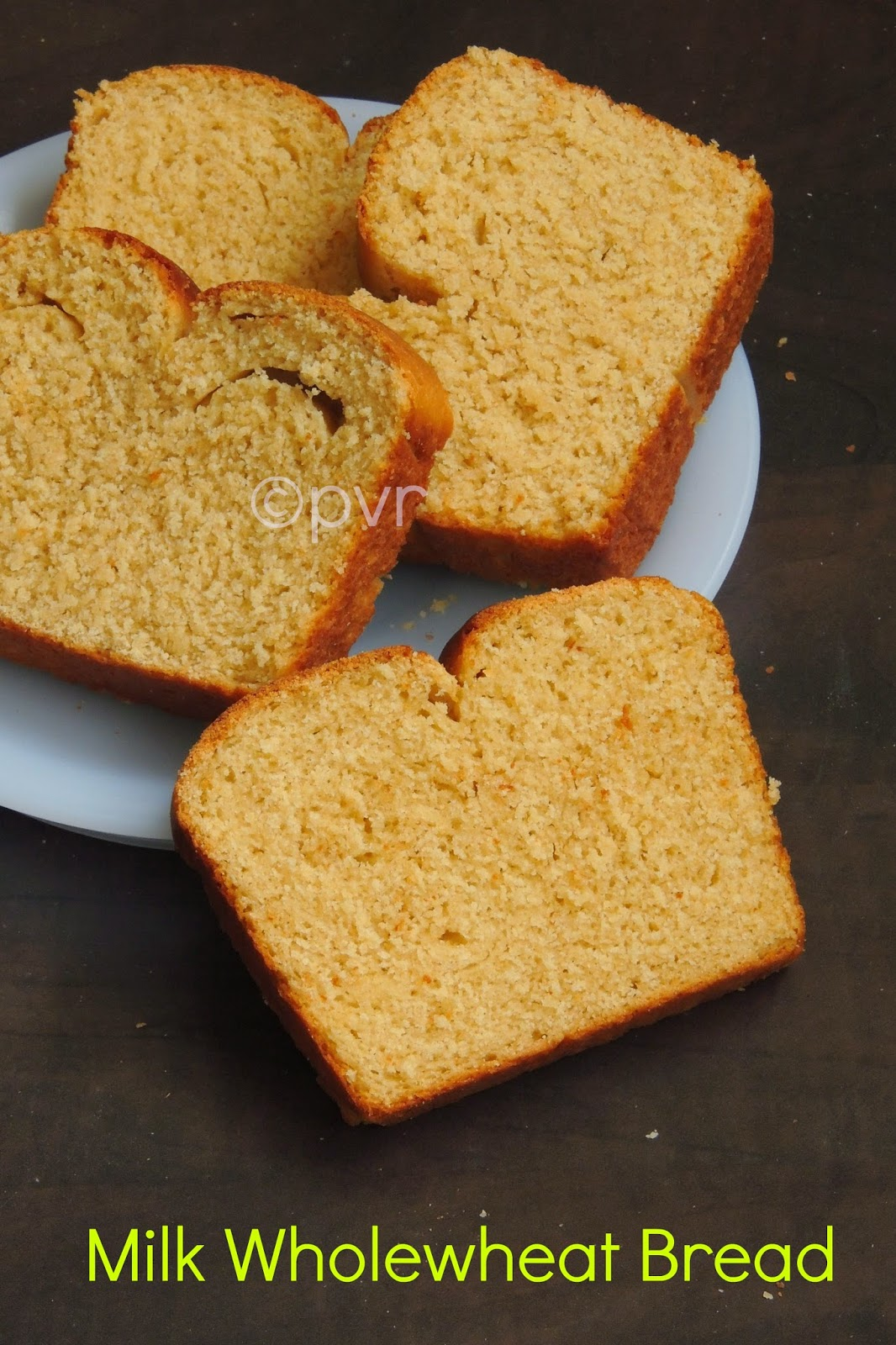 Wheat Milk Bread, Milk Wheat Bread, Wholewheat milk Bread