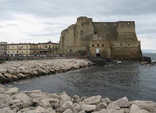 Borgo Marinaro is dominated by the 12th century Norman fortress Castel dell'Ovo