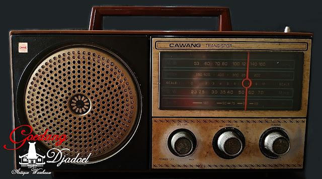 Radio antik cawang
