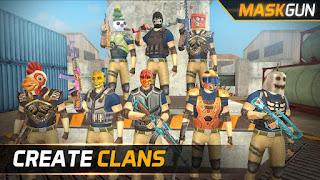 MaskGun - Multiplayer FPS Mod