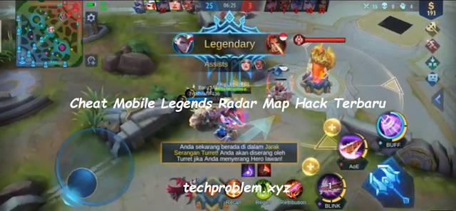 APK MOD Kuroyama Radar Map Hack Mobile Legends Update Terbaru
