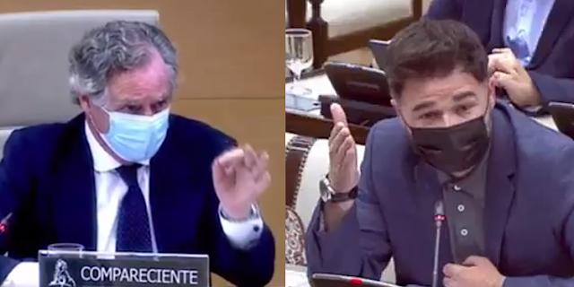López del Hierro y Gabriel Rufián
