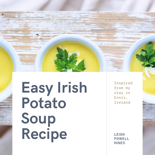 Easy Irish Potato Soup Recipe Perfect for St. Patricks Day #Recipes #Soups  #EasyDinners