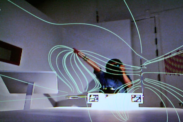 THE THEREMIN INSPECTOR Biorhythm Exhibit