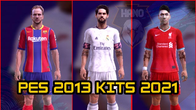 Leaked Kitpack Season 2020-2021 For PES 2013