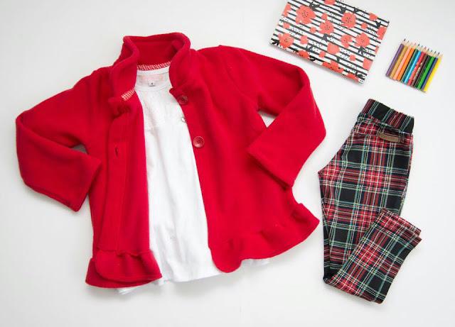 Moda invierno 2017 ropa para bebes.
