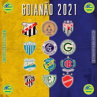 Três jogos sofrem alteração de data no Goianão 2021