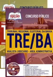 Apostila TRE-BA 2017 Analista Judiciário