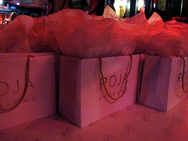 Risqué fragrance launch event by Roja Parfums at Madame Jojo's - UK beauty blog