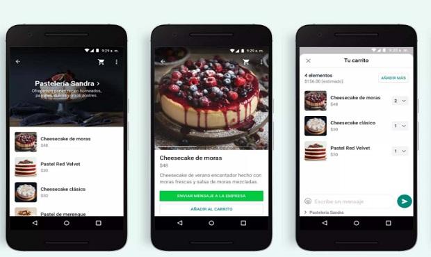 WhatsApp habilita un carrito de compra para adquirir productos desde la app