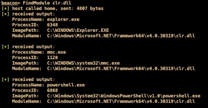 FindObjects-BOF : A Cobalt Strike Beacon Object File (BOF) Project Which Uses Direct System Calls To Enumerate Processes For Specific Loaded Modules Or Process Handles