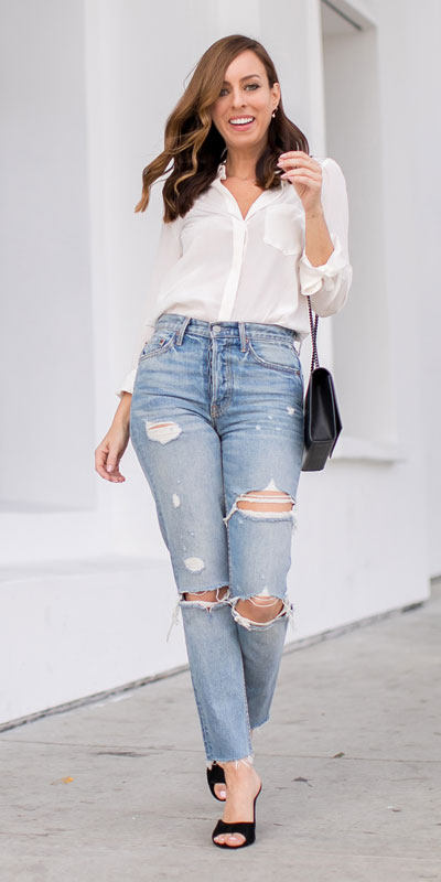 23 Stylish Fall Fashion Ideas for Women Over 30. We've taken the liberty of compiling a list of fall outfit ideas for women over 30. Fall Style via higiggle.com | #fashion #falloutfits #style #jeans