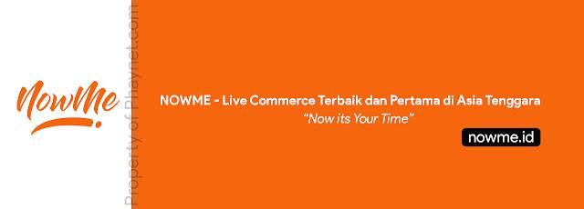 NowMe merupakan platfrom live commerce asal Malaysia yang baru saja di didirikan pada tahun 2008 lalu. NowMe memberikan pelayanan terbaru dari e-Commerce, yakni Live Commerce yang dimana para pengguna nya bisa berbelanja secara langsung.
