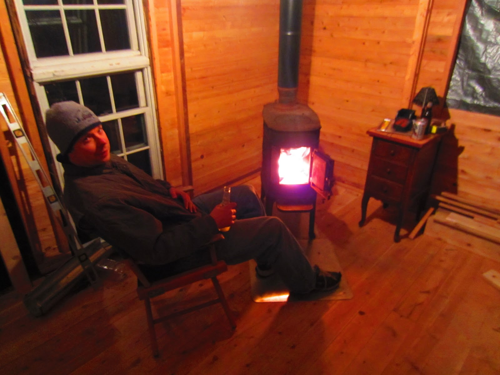 Burn Baby Scandia Inferno Our Vermont Cabin Finally Gets A Wood Stove